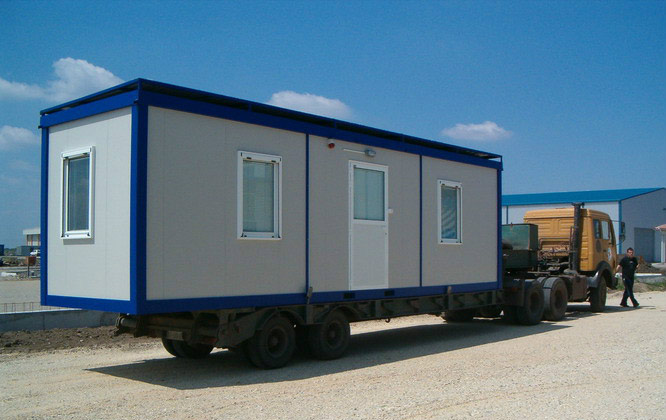 Portable Caravans Eps Sandwich Panels